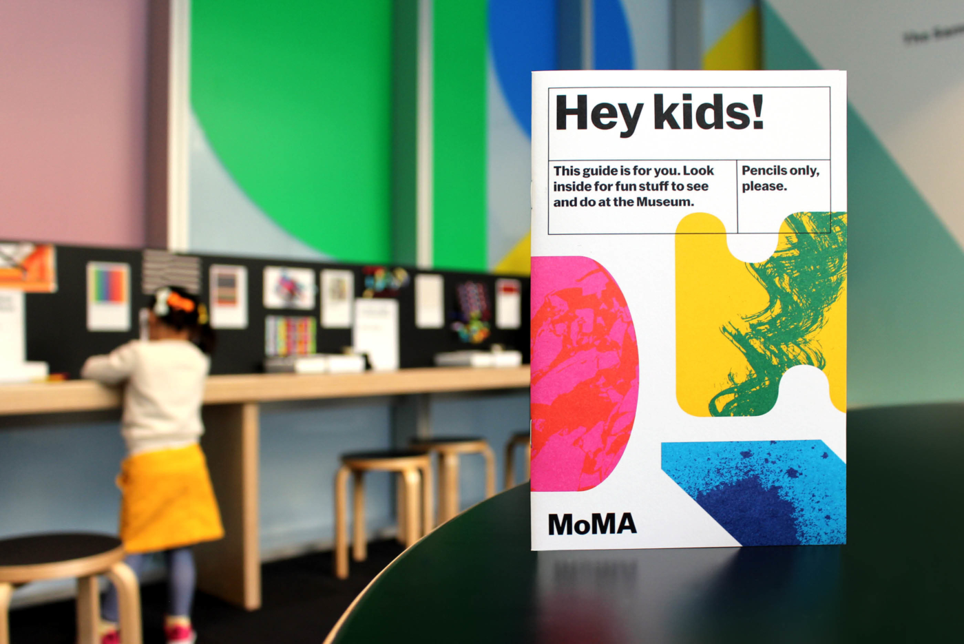 Llwebsite Moma Kidsguide